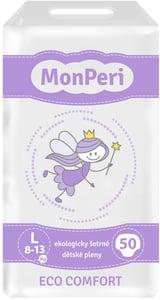 MonPeri Eco Comfort Ekologicky šetrné jednorázové dětské plenky L 8-13 kg