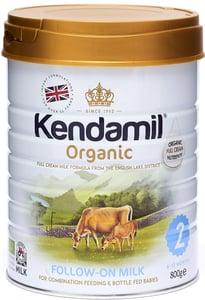 Kendamil BIO Plnotučné pokračovací mléko 2
