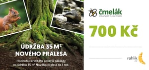 Pomáhejte s Rohlíkem – Čmelák – Společnost přátel přírody z.s. - Certifikát v hodnotě 700 Kč