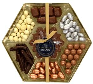 Marks & Spencer Směs ořechů a sušeného ovoce v čokoládě