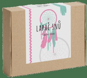 Pikle Lapač snů (Sada na výrobu) růžovo - mintová