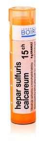 HEPAR SULFURIS CALCAREUM 15CH granule 4G