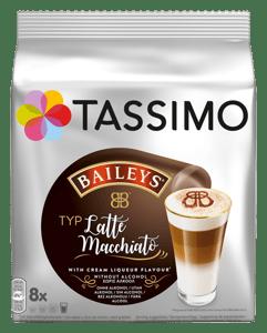 Tassimo kapsle Latte Macchiatto Baileys 8ks