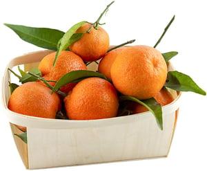 Mandarinky s lístkem (dozrávané na stromě), EKO balení