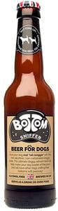 Woof & Brew Bottom Sniffer pivo pro psy