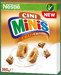 Nestlé CINI MINIS Crazy Crush snídaňové cereálie