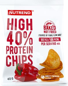 Nutrend HIGH PROTEIN CHIPS, paprika
