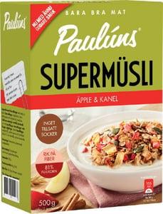 Paulúns SuperMüsli s jablky a skořicí