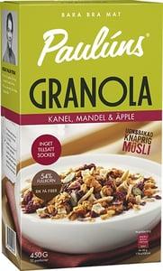 Paulúns Granola se skořicí a jablky