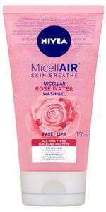 Nivea MicellAir Čisticí micelární gel s růžovou vodou