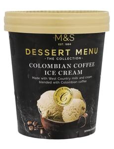 Marks & Spencer Smetanová zmrzlina s příchutí kávy