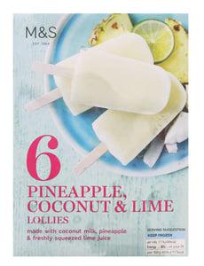 Marks & Spencer Ovocná zmrzlina (6ks)