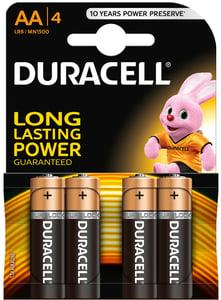 Duracell Basic AA K4 1500