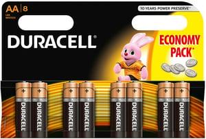 Duracell Basic AA 1500 8ks
