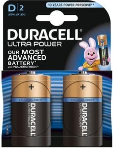 Duracell Ultra Power D 2K