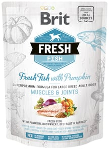 VZOREK: Brit Fresh Fish with Pumpkin Adult Large 1ks
