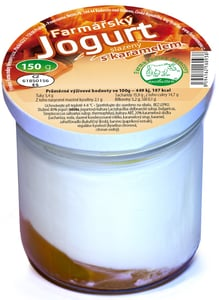Farma rodiny Němcovy Farmářský jogurt s karamelem