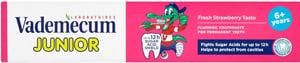 Vademecum Junior zubní pasta 6+ Fresh Strawberry Taste
