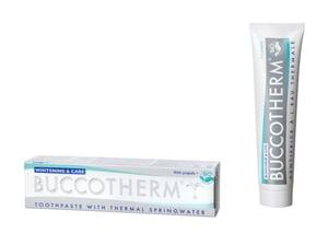 Buccotherm BIO Bělicí zubní pasta White & Care