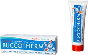 Buccotherm gelová zubní pasta pro děti od 2 do 6 let, MANGO