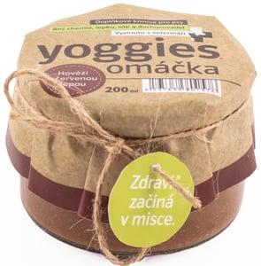 Yoggies Omáčka pro psy s hovězím masem a červenou řepou