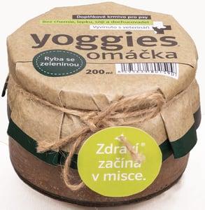 Yoggies Omáčka pro psy s bílou rybou a zeleninou