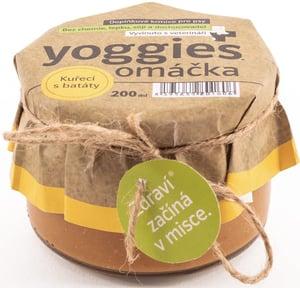 Yoggies Omáčka pro psy s kuřecím masem a batáty