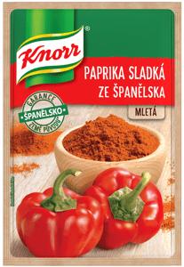 Knorr Paprika sladká ze Španělska mletá