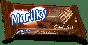 Marilky čokoládové celomáčené