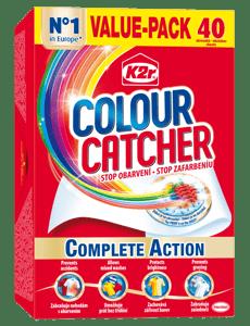 K2r Colour Catcher prací ubrousky proti obarvení 40ks