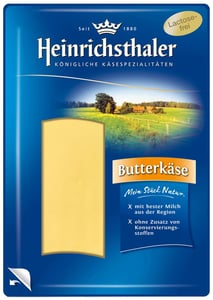 Heinrichsthaler Máslový sýr 50% plátky