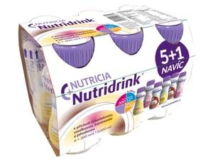 NUTRIDRINK BALÍČEK 5 + 1 perorální roztok 6X200ML
