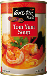 Exotic Food Tom yum polévka