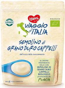 Hami BIO Viaggio di Italia Nemléčná italská kaše krupicová