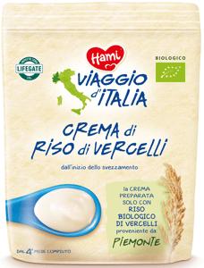 Hami BIO Viaggio di Italia Nemléčná italská kaše rýžová