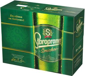 Staropramen Smíchov pivo výčepní světlé 10x0,5 l