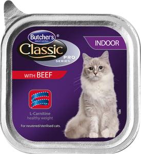 Butcher's Pro Series Cat Indoor Vanička s hovězím masem