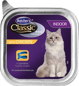 Butcher's Pro Series Cat Indoor Vanička s kuřecím masem