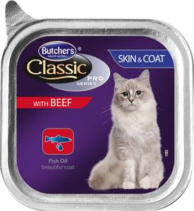 Butcher's Pro Series Cat Sking & Coat Vanička s hovězím masem