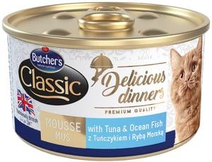 Butcher's Classic Delicious Dinners Konzerva s tuňákem a mořskými rybami