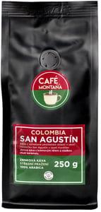 Café Montaña Colombia San Agustín zrnková káva