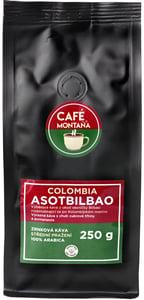 Café Montaña Colombia Asotbilbao zrnková káva