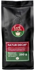 Café Montaña Natur Decaf bezkofeinová zrnková káva