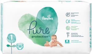 Pampers Pure Protection 2-5 kg (velikost 1) 35 ks