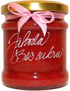 Marmelády s příběhem Jahodový extra džem výběrový speciální bez cukru