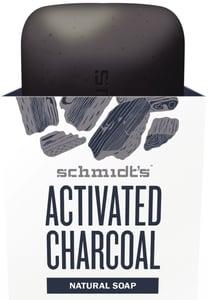 Schmidt's Tuhé mýdlo aktivní uhlí + hořčík