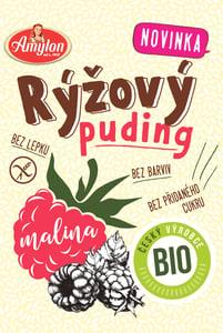 Amylon BIO Puding rýžový malinový