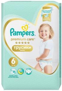 Pampers Premium Pants Carry Pack (velikost 6) 18 ks