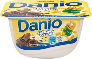 Danone Danio krémový tvaroh stracciatella