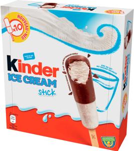 Kinder zmrzlinová tyčinka Multipack 10x36ml